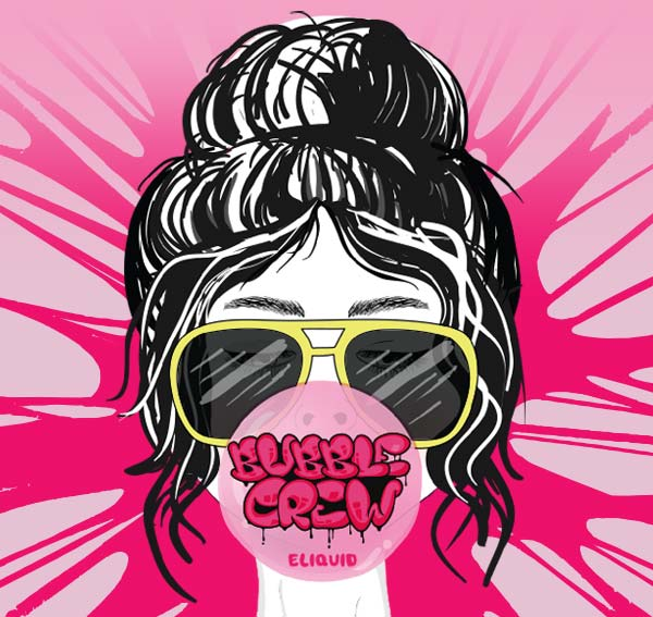 Remix : Bubble Crew e-liquid illustration