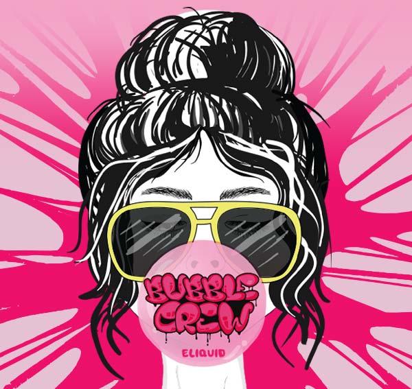 Remix : Bubble Crew e-liquid illustration