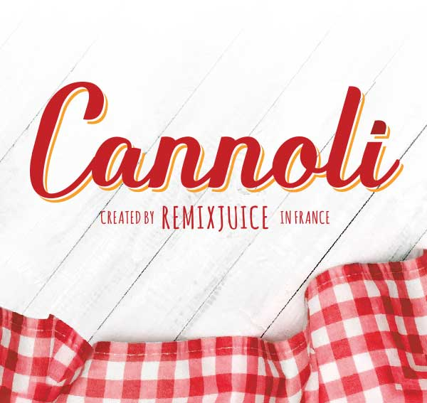 Remix : Cannoli e-liquid illustration
