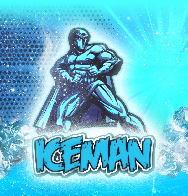 Remix : Iceman e-liquid illustration