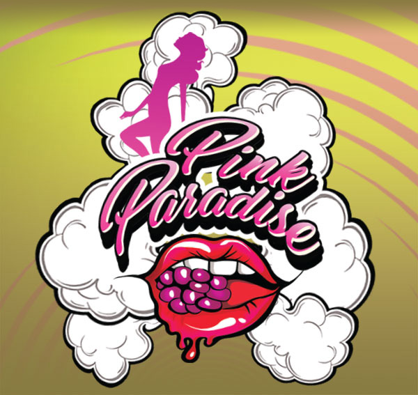 Remix : Pink Paradise e-liquid illustration