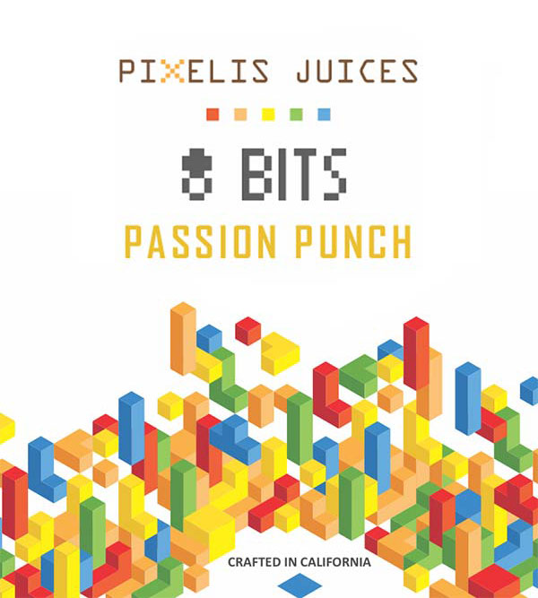 Remix : Pixelis e-liquid illustration