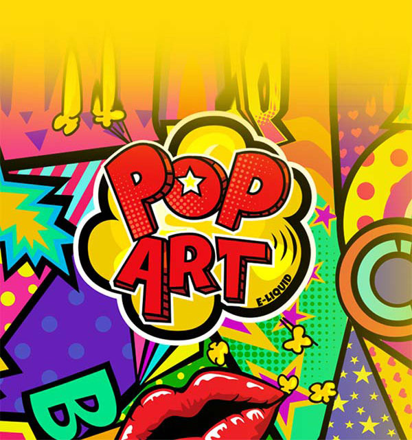 Remix : Pop Art e-liquid illustration