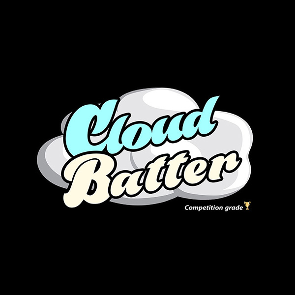 Cloud Batter e-liquid Logo illustration