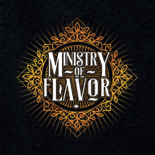 Ministry of Flavour e-liquid Logo illustration