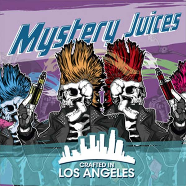 Mystery Juices e-liquid Logo illustration