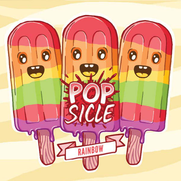 Popsicle e-liquid Logo illustration