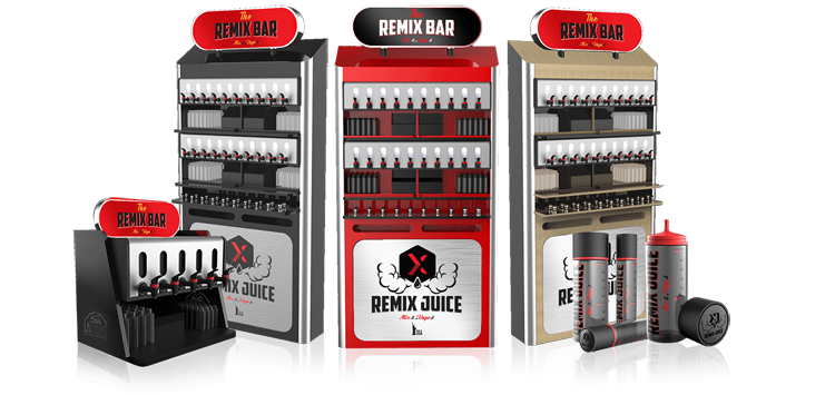 remix bar machines background