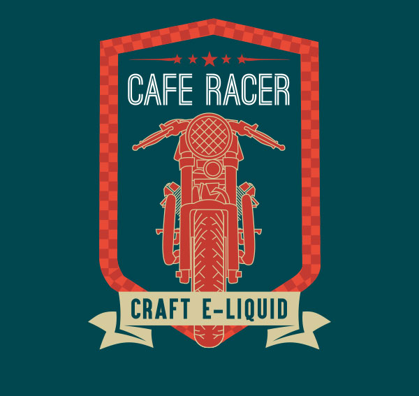 Remix : Cafe Racer e-liquid illustration