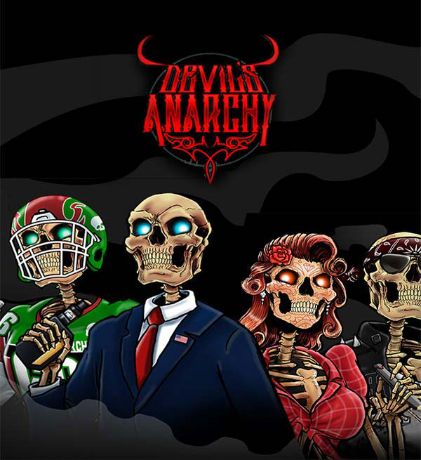 Remix : Devil's Anarchy e-liquid illustration