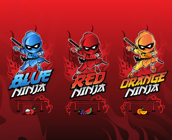 Remix : Red Ninja e-liquid illustration