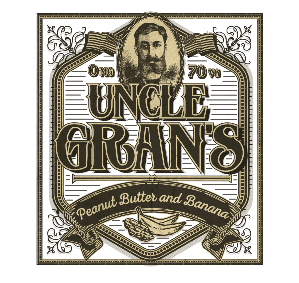 Remix : Uncle Gran's e-liquid illustration