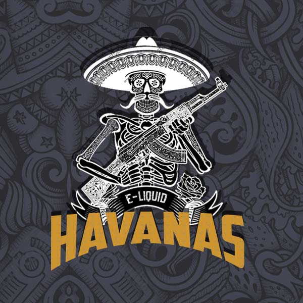 Havanas e-liquid Logo illustration