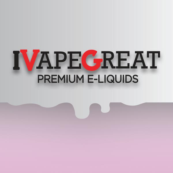 I Vape Great e-liquid Logo illustration