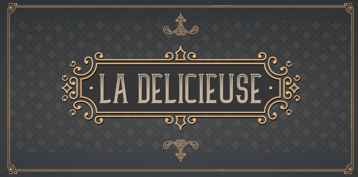 La Délicieuse e-liquid Logo illustration