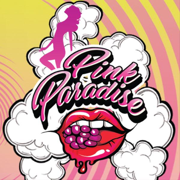 pink paradise e-liquid Logo