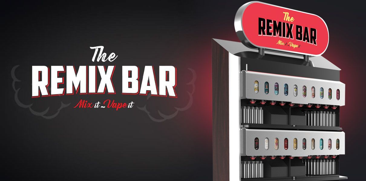 The Remix Bar machine