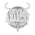 Devil's anarchy e-liquid logo